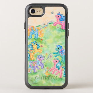 Ponies Catching Butterflies OtterBox Symmetry iPhone 8/7 Case