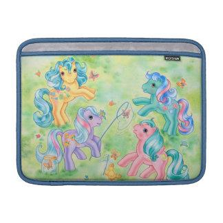 Ponies Catching Butterflies Sleeve For MacBook Air