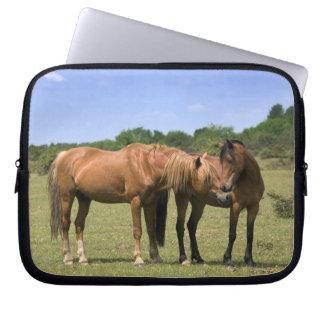 Ponies in Love Laptop Sleeve