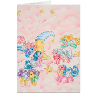 Ponies in the Clouds Greeting Card