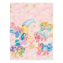Ponies in the Clouds Postcard