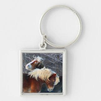 ponies keychain