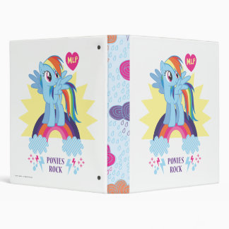 Ponies Rock Binder