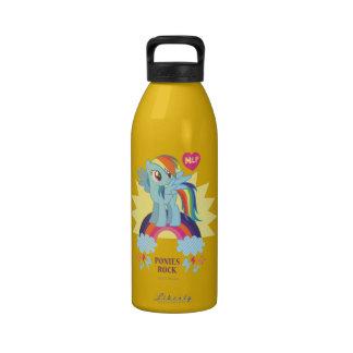Ponies Rock Drinking Bottles