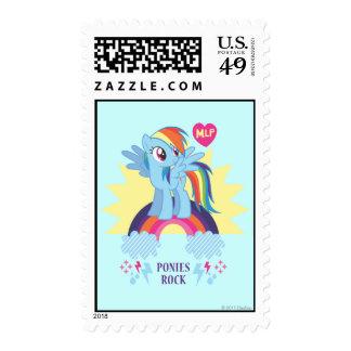 Ponies Rock Stamps