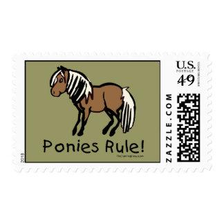 Ponies Rule! Postage