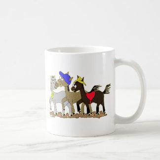 Ponies Three Coffee Mug
