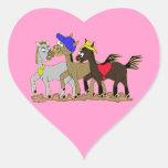 Ponies Three Stickers