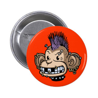 Ponkey Pin Redondo De 2 Pulgadas