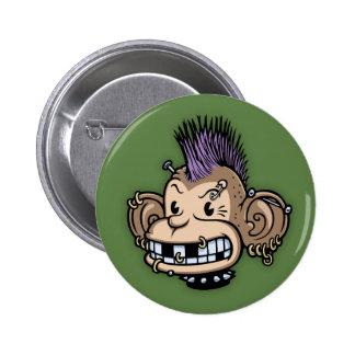 Ponkey Pinback Button