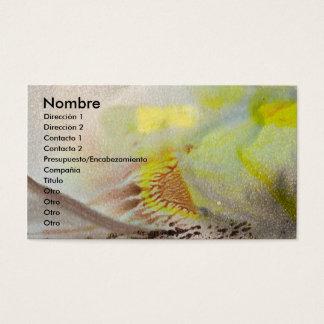 Ponle nombre a tu tarjeta de presentación business card