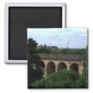 Pont Adolphe, Luxembourg Refrigerator Magnet