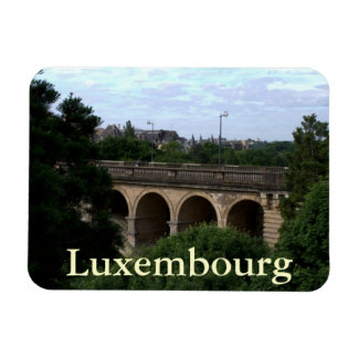 Pont Adolphe, Luxembourg Flexible Magnet