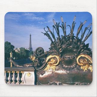 Pont Alexandre III Bridge and Eiffel Tower. Mouse Pad