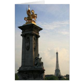 Pont Alexandre III Card