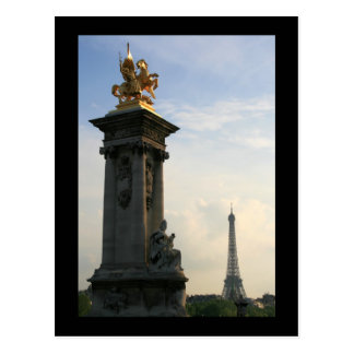 Pont Alexandre III Detail Post Cards