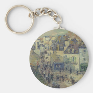 Pont Aven by Gustave Loiseau Keychains