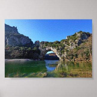 Pont d'Arc Poster