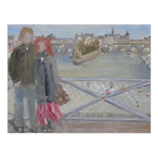 Pont des Arts: Paris Postcard