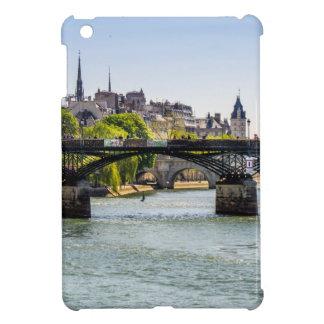 Pont Des Arts, River Seine in Paris, France Cover For The iPad Mini