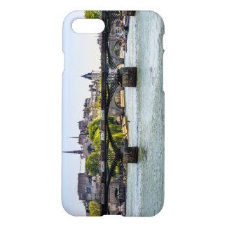 Pont Des Arts, River Seine in Paris, France iPhone 7 Case