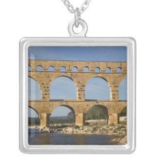 Pont du Gard, Gard, Languedoc-Rosellón, Francia Colgante Cuadrado