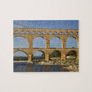Pont du Gard Gard Languedoc Roussillon France Jigsaw Puzzles