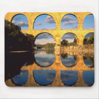Pont du Gard, Gardon River, Gard, Languedoc, Mouse Pad