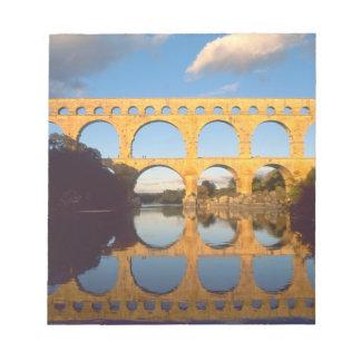 Pont du Gard, Gardon River, Gard, Languedoc, Notepad