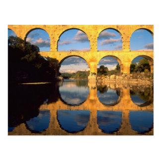 Pont du Gard, Gardon River, Gard, Languedoc, Postcard