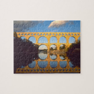 Pont du Gard Gardon River Gard Languedoc Puzzles