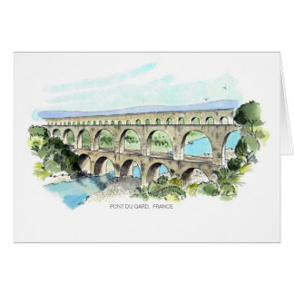 Pont Du Gard note card