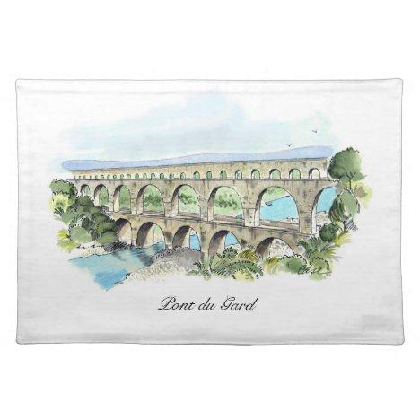 Pont du Gard place mat