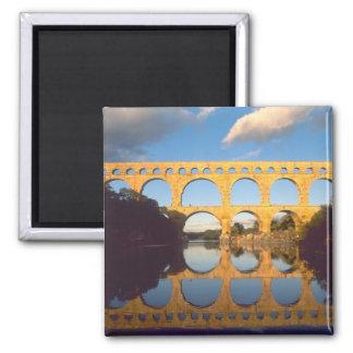 Pont du Gard, río de Gardon, Gard, Languedoc, Imán Cuadrado