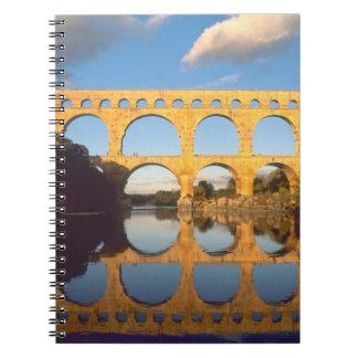 Pont du Gard, río de Gardon, Gard, Languedoc, Libretas