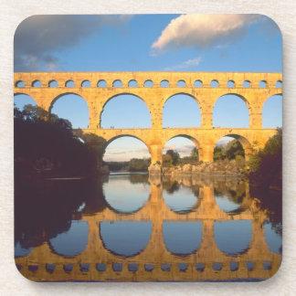 Pont du Gard, río de Gardon, Gard, Languedoc, Posavasos De Bebidas