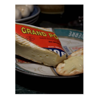Pont Leveque Cheese Postcard