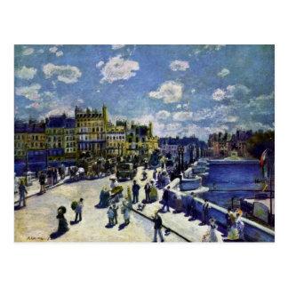 Pont-Neuf By Pierre-Auguste Renoir (Best Quality) Postcard