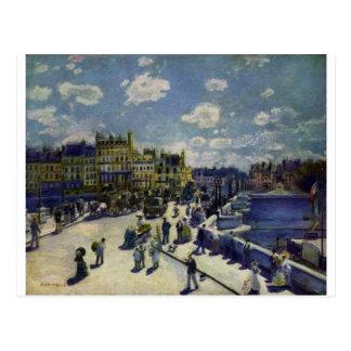 Pont Neuf by Pierre-Auguste Renoir Postcard