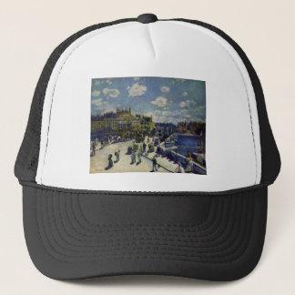Pont Neuf by Pierre-Auguste Renoir Trucker Hat