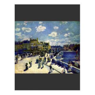 Pont-Neuf by Pierre Renoir Postcard