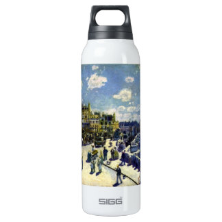 Pont-Neuf by Pierre Renoir 16 Oz Insulated SIGG Thermos Water Bottle