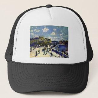 Pont-Neuf by Pierre Renoir Trucker Hat