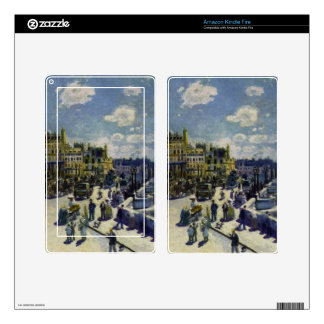 Pont-Neuf Decals For Kindle Fire