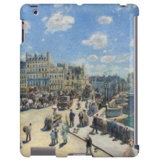 Pont Neuf, París, 1872 (aceite en lona) Funda Para iPad