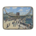 Pont Neuf, París, 1872 (aceite en lona) Fundas Para Macbooks