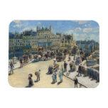 Pont Neuf, París, 1872 (aceite en lona) Imanes Rectangulares