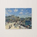 Pont Neuf, París, 1872 (aceite en lona) Puzzles
