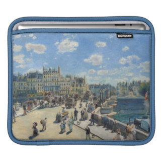 Pont Neuf, Paris, 1872 (oil on canvas) Sleeves For iPads