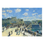 Pont Neuf, Paris by Pierre-Auguste Renoir Personalized Invitations